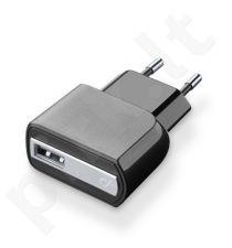 USB sieninis įkroviklis 2A Cellular juodas