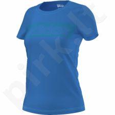 Marškinėliai treniruotėms Adidas Essential Linear Tee W AJ4576