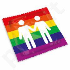 Prezervatyvai Pasante Pride (1 vnt)