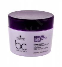 Schwarzkopf BC Bonacure Keratin Smooth Perfect, plaukų kaukė moterims, 200ml