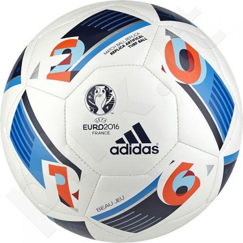 Futbolo kamuolys Adidas Beau Jeu EURO16 Replica Artificial Turf Ball AC5417
