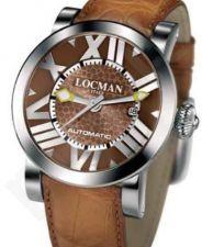 Laikrodis LOCMAN TOSCANO LIMITED EDITION BROWN 029000BNNNKCAON
