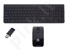 HP Wireless Desktop Keyboard + FK (US/INT) and mouse set - wireless - 2.4 GHz