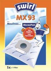 SWIRL MX93/5 MP1 D.s. filtras