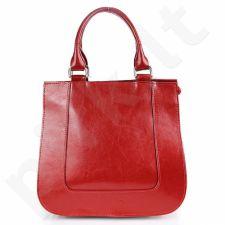 DAN-A T228 raudona rankinė, odinė