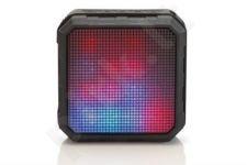 EDNET Bluetooth® speaker SPECTRO with LED, IPX4