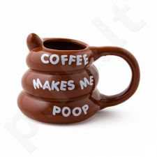 "Puodelis ""Emocija: coffee makes me poop"""