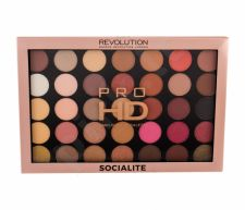 Makeup Revolution London Pro HD, Palette Amplified 35, akių šešėliai moterims, 29,995g, (Socialite)