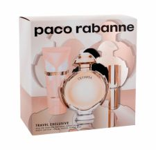 Paco Rabanne Olympéa, rinkinys kvapusis vanduo moterims, (EDP 80 ml + EDP 10 ml + kūno losjonas 75 ml)