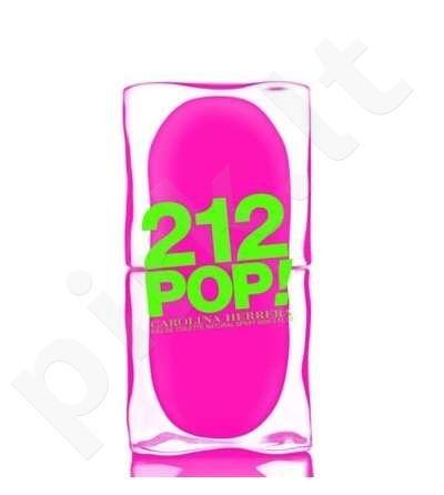 Carolina Herrera 212 Pop, tualetinis vanduo (EDT) moterims, 60 ml (Testeris)