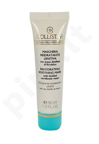Collistar Rehydrating Soothing Mask, kosmetika moterims, 30ml