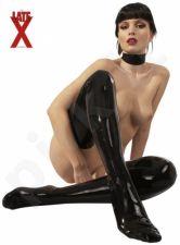 Juodos latekso kojinės - XS