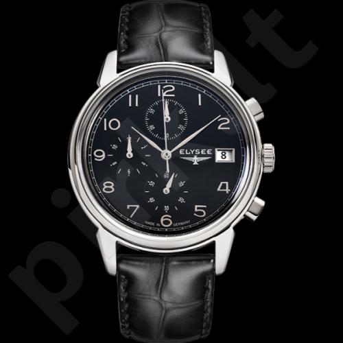 Vyriškas laikrodis ELYSEE Vintage Chrono 80551
