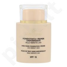 Collistar Evening Foundation + Primer SPF 15 kreminė veido pudra, kosmetika moterims, 35ml, (4 Cookie)
