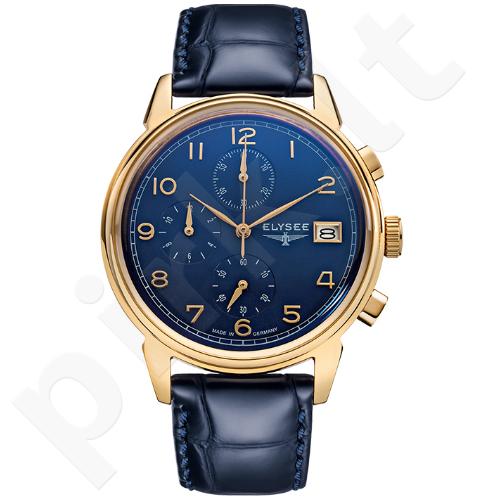 Vyriškas laikrodis ELYSEE Vintage Chrono 80552