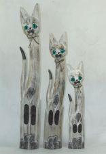 Komplektas 3 katinai 98522