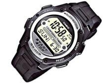 Casio Collection W-756-1AVES vyriškas laikrodis-chronometras