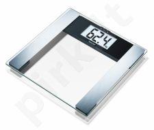 Diagnostinės svarstyklės Beurer BF480 USB permatomos