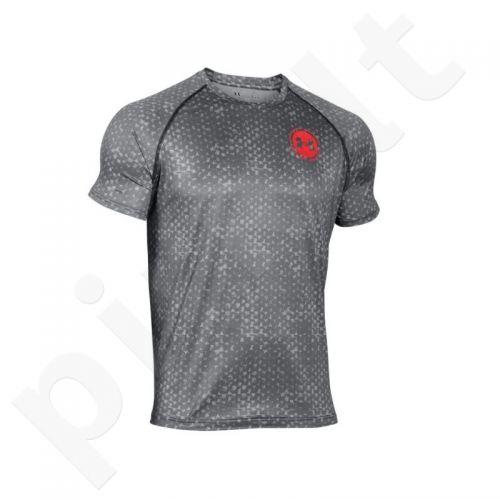 Marškinėliai treniruotėms Under Armour Tech Scope Printed T-Shirt M 1271755-008