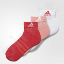 Kojinės Adidas 3-Stripes Performance Ankle 3 poros W AY6433