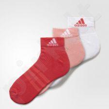 Kojinės Adidas 3-Stripes Performance Ankle 3 poros W AY6433