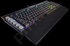 Corsair Gaming K95 RGB Platinum Mechanical Keyboard - Cherry MX Speed - Black