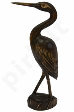 Medinė paukščio statulėlė 33 cm 62611