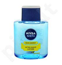 Nivea Men Skin Energy losjonas po skutimosi Lotion, kosmetika vyrams, 100ml