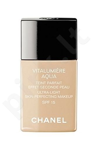 Chanel Vitalumiere Aqua Makeup SPF15, kosmetika moterims, 30ml, (10 Beige)