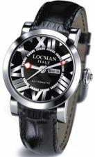 Laikrodis LOCMAN TOSCANO BLACK 029300BKNNKCPSK