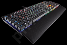 Corsair K70 LUX RGB Mechanical Gaming Keyboard Cherry MX RGB Blue NA