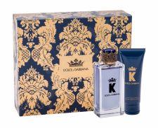 Dolce&Gabbana K, rinkinys tualetinis vanduo vyrams, (EDT 100 ml + balzamas po skutimosi 75 ml)