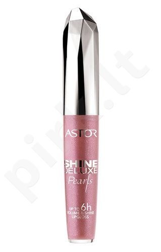 Astor Shine Deluxe lūpdažis, kosmetika moterims, 5,5ml, (014 Nude Amber)