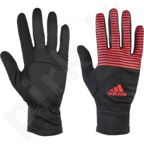 Pirštinės bėgimui  Adidas Running climawarm graphic gloves AA7514
