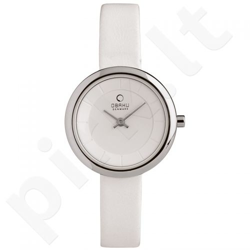 Moteriškas laikrodis OBAKU OB V146LCIRWH