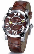 Laikrodis LOCMAN TOSCANO BROWN 029300BNNNKCPSN