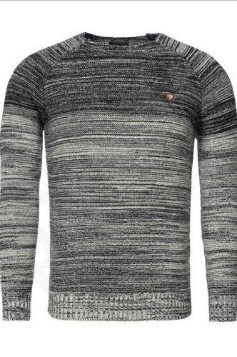 Vyriškas megztinis CRSM - mėlyno atspalvio 9504-3