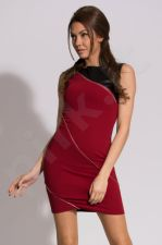 Emamoda suknelė - bordinė 9909-3