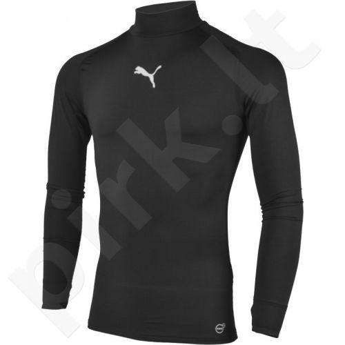 Marškinėliai treniruotėms Puma TB Longsleeve Tee Warm M 65461103