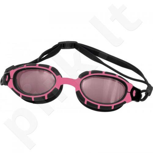 Plaukimo akiniai Aqua-Speed Alpha juoda-rožinė