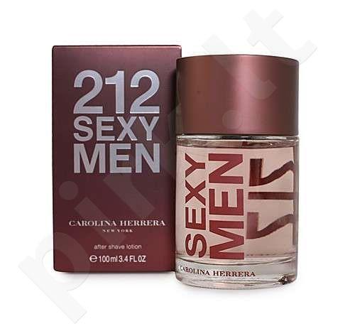 Carolina Herrera 212 Sexy Men, losjonas po skutimosi vyrams, 100ml