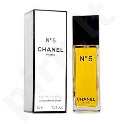 Chanel No.5, tualetinis vanduo (EDT) moterims, 50 ml (Testeris)