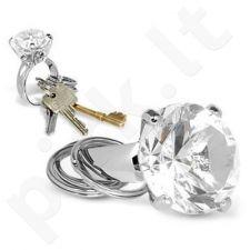 Raktų pakabukas - deimantas