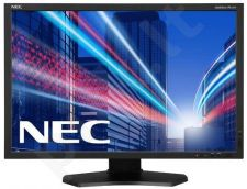 NEC Monitor MultiSync LCD PA242W 24.1'' wide, FHD, DVI, HDMI, DP, USB, black