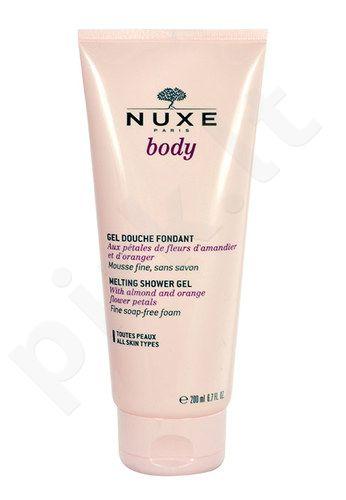 Nuxe Body Melting dušo želė, kosmetika moterims, 200ml