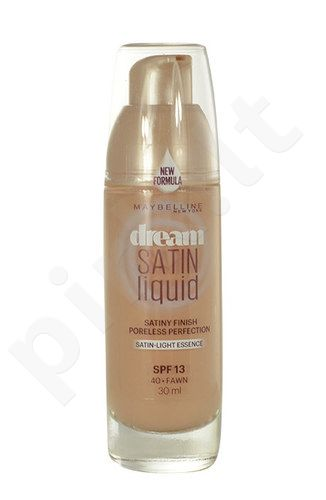 Maybelline Dream Satin Liquid kreminė pudra SPF13, kosmetika moterims, 30ml, (40 Fawn)