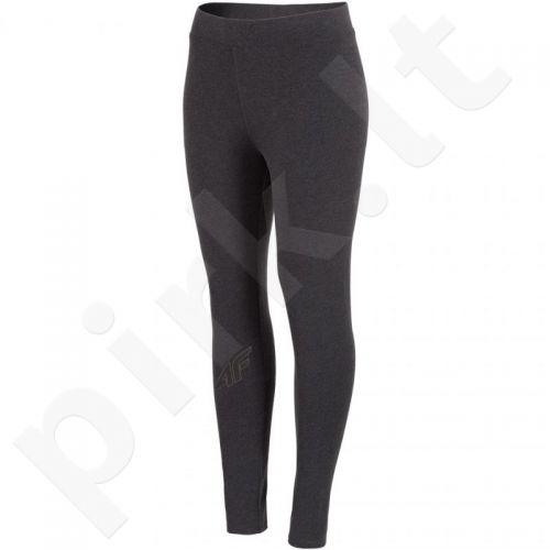 Sportinės kelnės, Tamprės 4F W H4L18-LEG001 ciemny pilkas
