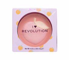 Makeup Revolution London I Heart Revolution, Fruity Blusher, skaistalai moterims, 9,2g, (Peach)