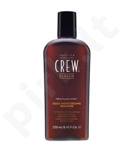 American Crew Daily Moisturizing šampūnas, kosmetika vyrams, 250ml
