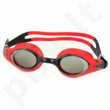 Plaukimo akiniai Aqua-Speed Beta juoda-raudona